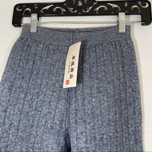 Cashmere thick Grey leggings